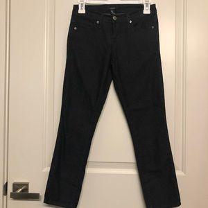 Forever 21 Light Weight Black Ankle Denim Jeans 24
